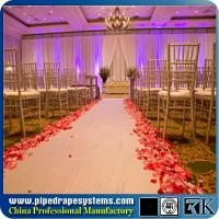 Buy cheap RK wedding chuppah pipe and drape Aluminum pipe and drape exhibition booth from wholesalers