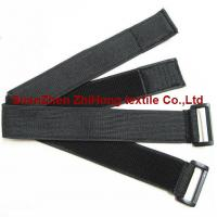 Buy cheap Elastic un-brushed hook and loop binding straps/wrist/arm straps from wholesalers