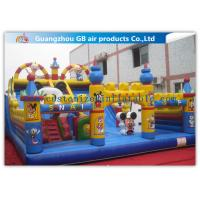 Buy cheap Commercial Inflatable Amusement Park Castles / Kids Toys Mickey Mouse Bounce House product