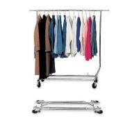 Buy cheap Collapsible Single Clothing Display Rack with Chrome Plating Service Equipment from wholesalers