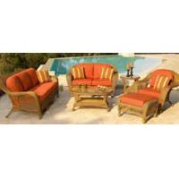 Buy cheap 6pcs luxury garden rattan furniture    from wholesalers