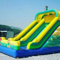 Buy cheap High Temperature Welding Inflatable Water Toys Inflatable Pool Toys With Slide from wholesalers