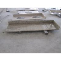 Buy cheap Yellow Brazil Gold Granite Natural Stone Countertops For Bathroom High Density from wholesalers