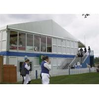 Buy cheap 30M * 60M Double Decker Tent House With Glass Sidewall Option For Sale from wholesalers
