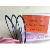 Buy cheap Wenzhou China Factory Mazda Engine Parts Mazda R2 Piston Ring First Ring Nodular Iron 86*2+2+4mm from wholesalers