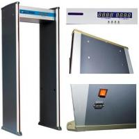 Buy cheap ABNM600A 6 detection zones walk through metal detector with LED alarm lights from wholesalers