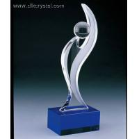 Buy cheap crystal trophy award souvenirs for golf player diamond brazil world cup trophy pulicrystal-205 from wholesalers