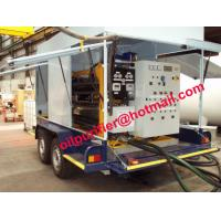 Buy cheap mobile trailer vacuum transformer oil purifier equipment,insulation oil filtration ,oil regenerat with car wheel trailer from wholesalers