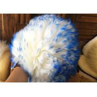 Buy cheap Durable Long Wool Sheepskin Car Wash Gloves , Sheep Wash Mitt With Silky Texture from wholesalers