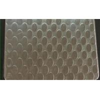 Buy cheap SUS 409 Patterned Stainless Steel Sheet , Textured Stainless Steel Sheet Metal product