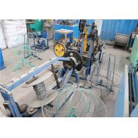 Buy cheap Stainless Steel Wire Barbed Wire Making Machine Compact Structure Saving Materials from wholesalers