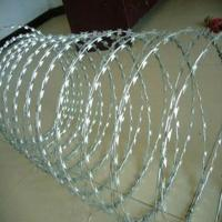 Buy cheap Razor wire/concertina razor barbed wire from wholesalers