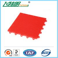 Buy cheap Portable basketball court Interlocking Rubber Floor Tiles 10 Years Using Life product