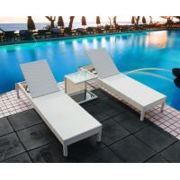 Buy cheap Outdoor garden wicker furniture sunbed PE Rattan beach chair Chaise lounge chair product