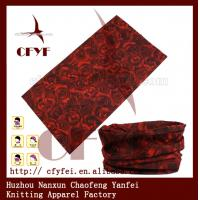 Buy cheap 100% polyester Custom the original multifunctional print seamless scarf from wholesalers