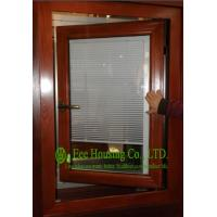Buy cheap Aluminum Adjustable Louver Casement Window With Double Glazing,windows with blinds inside from wholesalers