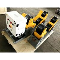 Buy cheap Pipe Self Aligned Welding Rotator Roller 5000kg Driving And Idler Unit product