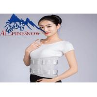 Buy cheap Professional Health Care Lumbar Support Brace , Work Support Belt With Steel from wholesalers