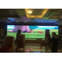 Buy cheap P1.923 Advertising LED Screens Indoor For Meeting / LED Video Walls With Iron Cabinet from wholesalers