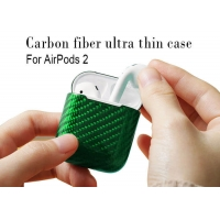 Buy cheap Anti Fall Comfortable Real Carbon Fiber Airpods Case from wholesalers
