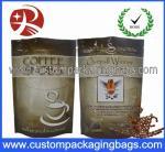 Buy cheap Ziplock Bar Iron Coffee Bag , Aluminium Foil composite Pouches from wholesalers