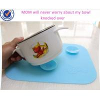 Buy cheap Fashion Suction Cup Style Kids Silicone Table Mat,Baby Silicone Placemat from wholesalers