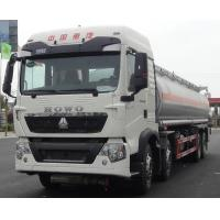 Buy cheap 8x4 12 Wheels 20000L to 35000L HOWO Oil Tank Truck / Fuel Tanker Truck for sale from wholesalers