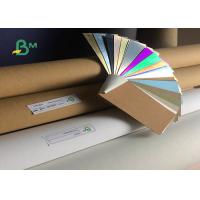 Buy cheap Top Rose Gold / Silver Back Brown Washable Kraft Paper 0.55mm Thickness from wholesalers