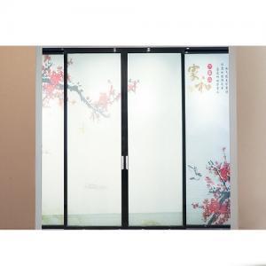 China 2mm Aluminum Frame Sliding Glass Doors on sale