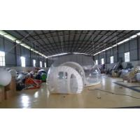 Buy cheap Inflatable Transparent Bubble Tent Belt Steel for Outdoor Camping from wholesalers