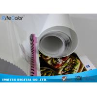 China Eco Solvent PP Synthetic Paper , Adhesive Matte Polypropylene Film Rolls on sale