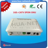 Buy cheap Single fiber CATV ONU 1GE+CATV EPON/GEPON ONU/ONT FTTH ONU/Fiber optic ONU from wholesalers