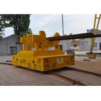 Buy cheap High temperature conductor rail power billet transfer car on arc-shaped  rails from wholesalers