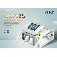 Buy cheap Portable Long Pulse Permanent Hair Removal Machine / Hair Reduction System AC220V/110V Power requirement from wholesalers