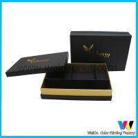 Buy cheap Personal Customized Foiled Printed Paper Packaging Boxes with Devider from wholesalers