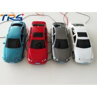 Buy cheap 1:50 scale ABS plastic  model painted  light car with LED for HO scale model train layout from wholesalers