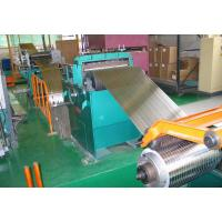 Buy cheap Galvanized Steel Coil Slitting Line , 2 X 850 Hydraulic Sheet Metal Slitter Machine from wholesalers