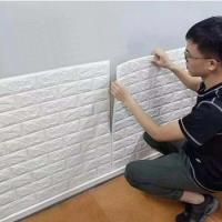 Buy cheap Modern design washable mural 3d brick mural stone wall paper for living room hotel from wholesalers