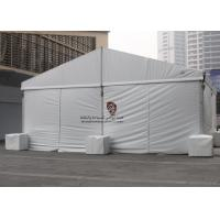 Buy cheap 10X30 m White Canvas Industrial Storage Tents , Motorcycle Storage Tent from wholesalers