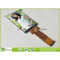 Buy cheap Narrow IPS LCD Display 4'' Resolution 480 * 800 40 Pin RGB Interface TFT Screen product