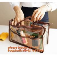 Buy cheap Fashion transparent pvc ladies shoulder bag crossbody sling bag, Clutch Tote Bag, Clutch Tote Bag, cosmetic bags, zipper from wholesalers