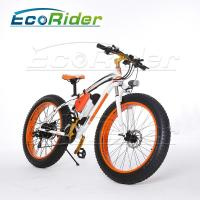 Buy cheap 26 Inch Tires 2 Wheel Electric Bike Outdoor Off Road Dirt Electric Snowmobile Bikes High Speed from wholesalers
