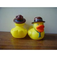 Buy cheap Phthalates Free Personalised Rubber Duck With Hat/Geologist / Desert Driver Design from wholesalers