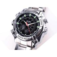 Buy cheap Waterproof  Voice Recorder Small Hidden Covert Watch Camera With Photo, 4032 * 3024 from wholesalers