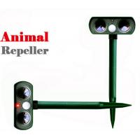 Buy cheap Solar Powered Animal Repellent Ultrasonic Garden Dog Repeller Animal Chaser from wholesalers
