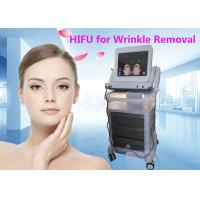 Buy cheap HIFU Wrinkle Removal / Skin Rejuvenation Machine With 15 Inch Colour Touch Screen from wholesalers
