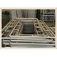 Buy cheap Q235 Building Frame scaffold , Walk through frame , H frame , Ladder frame , Mason frame scaffolding product