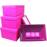 Buy cheap Folding decorated kraft gift box custom , luxury handmade boxes for gifts from wholesalers