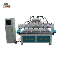 Buy cheap CA-1525 Hot sale multi-head wood cnc router for funiture door from wholesalers