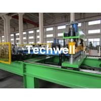 Buy cheap High Speed Steel Roofing Sheet Roof Roll Forming Machine with Flying Cutting from wholesalers